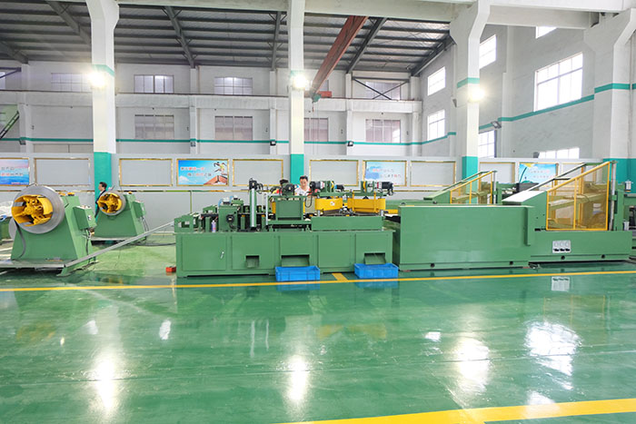 Transformer core laminations(CRGO)cutting line